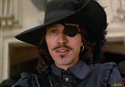 Michael Wincott as Rochefort ('Isn't that a smelly kind of cheese? ' asked by Porthos) in The Three Musketeers