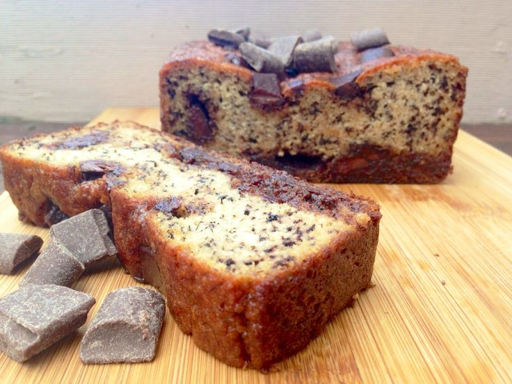 Paleo Choc Chip Banana Bread #GrainFree
