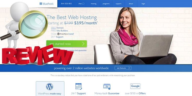 Bluehost Review -Editor's Review, Uptime Data, Discounts