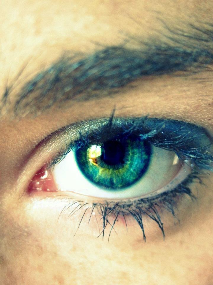 Eyes, green, auge