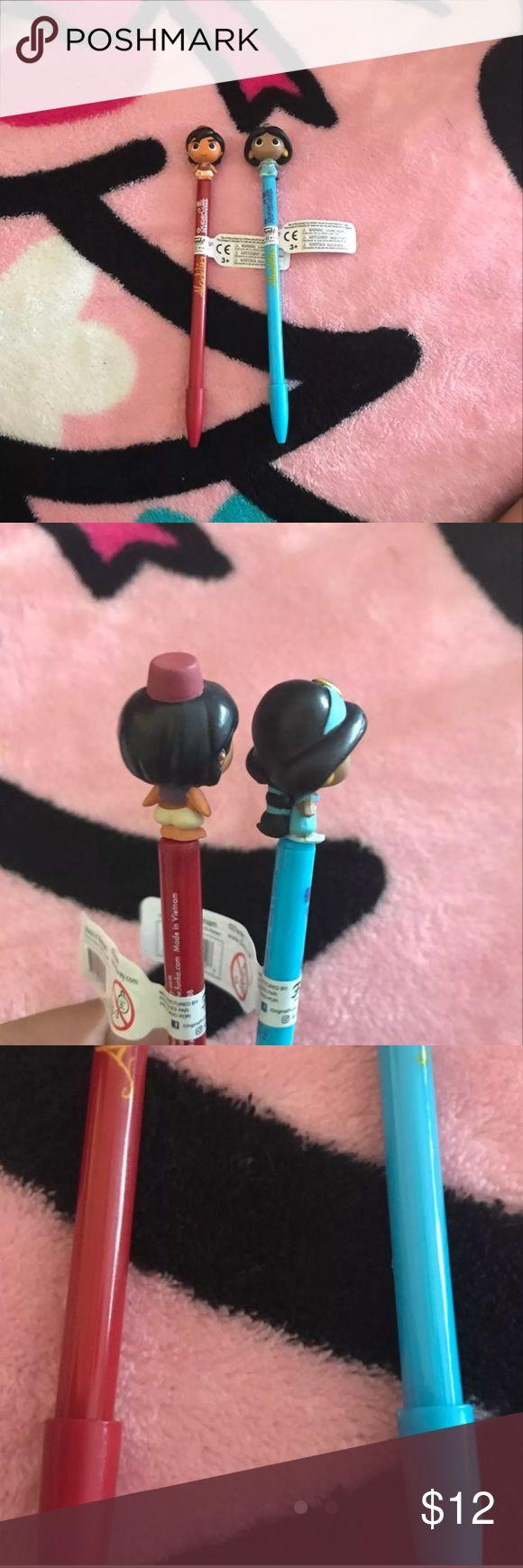Disney ALLADIN SuperCute Funko Pop Pens BRAND NEW NEVER USED No TRADES Price is Firm Accessories