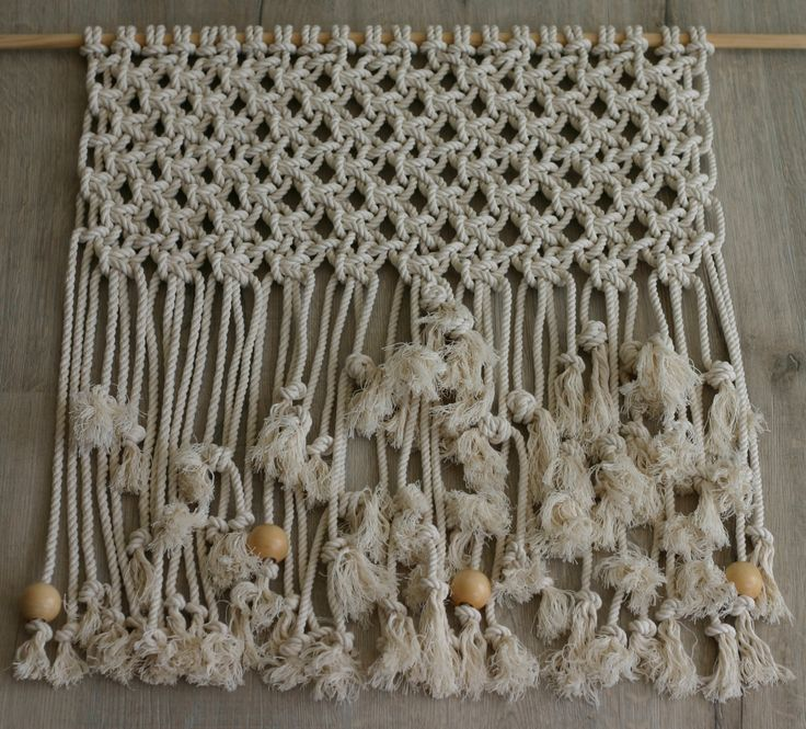 Large Macrame Wall Hanging by TheWelshmansWife on Etsy