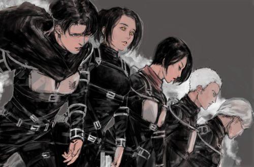 Pin by Alma Scarlet on anime/manga/fanart   Attack on ...