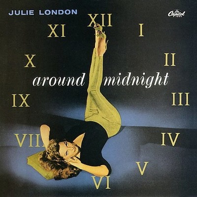 Julie London Capitol record album cover