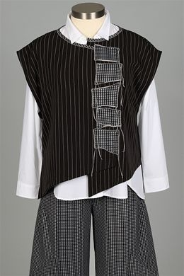 Xiao - Margot Vest Plus - Stripe
