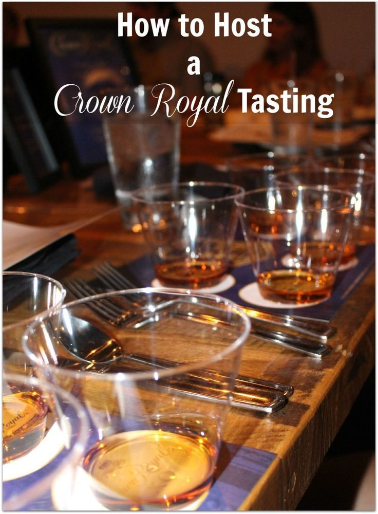The 25 best crown royal whiskey ideas on pinterest decorated how to host a crown royal tasting forumfinder Images