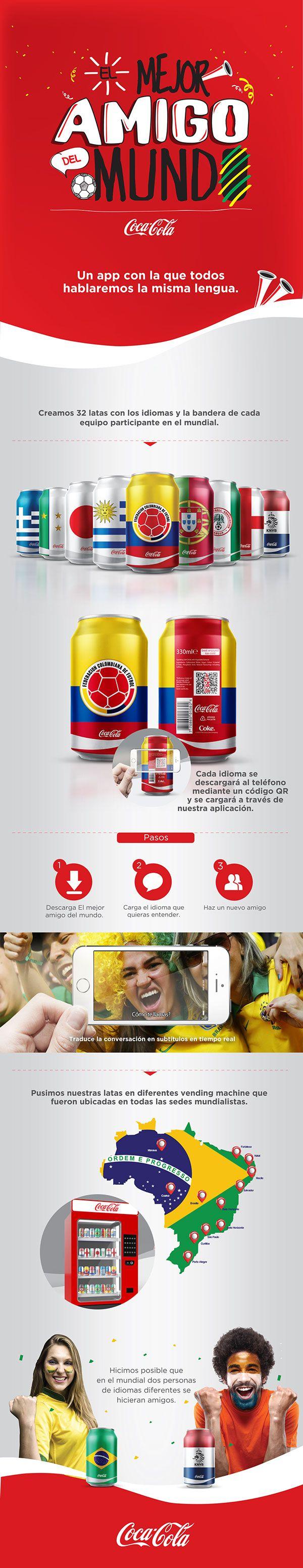 El mejor amigo del mundo by Coca.Cola on Behance