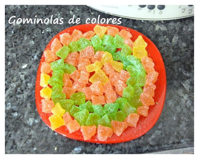 Gominolas de colores