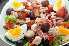 Салат нисуаз  http://amp.gs/1pvn    #foodclub #рецепт #вкусно #обед #ужин #новыйгод #зима