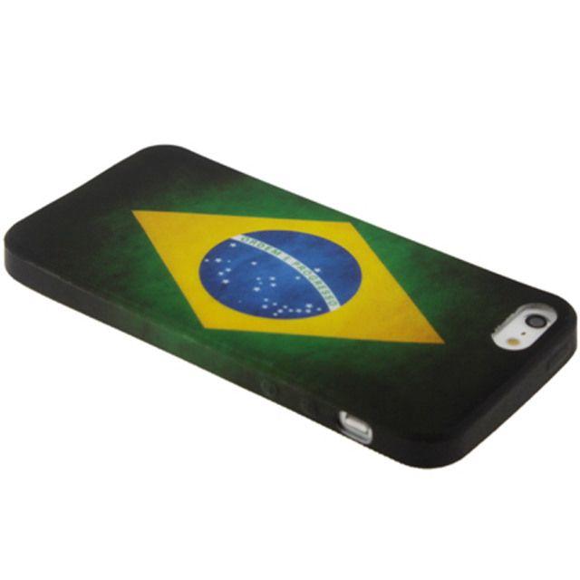 Cover Bandiera Brasile Iphone 5