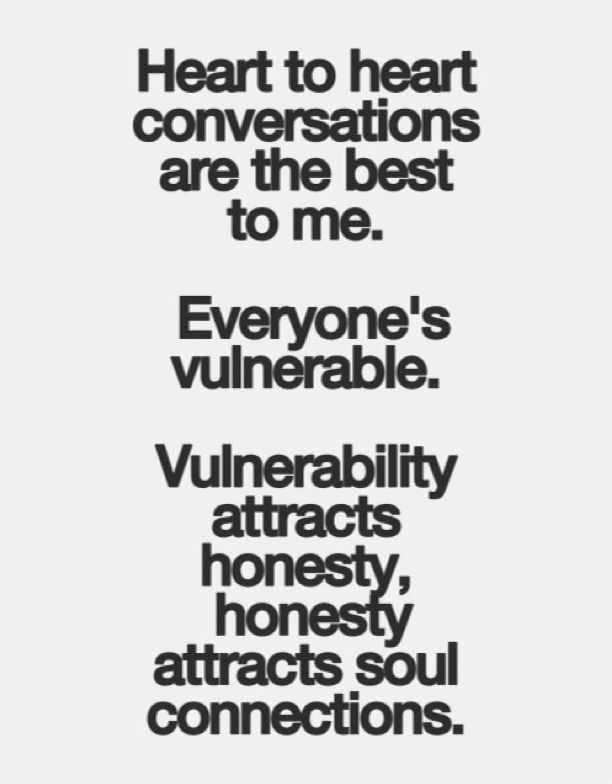Heart to heart conversations are the best to me.  #quote #qotd #quotations #heart2heart
