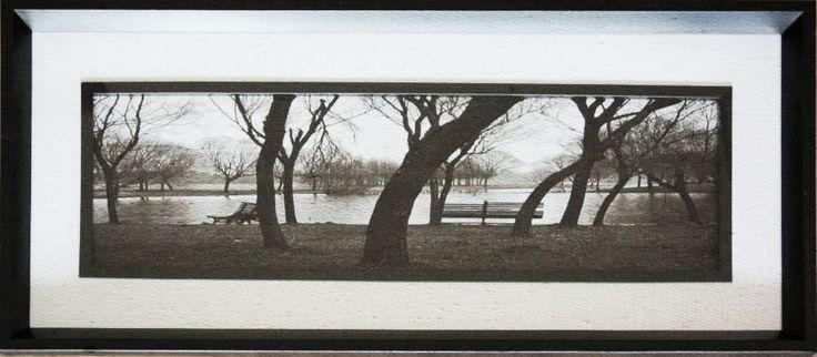 Fotografía enmarcada Código Ch03-3 70 x 30 cm $8.000