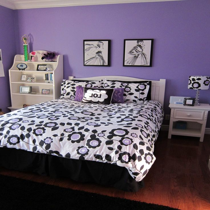 Elegant Purple Teen Bedroom Check more at http://maliceauxmerveilles.com/purple-teen-bedroom/