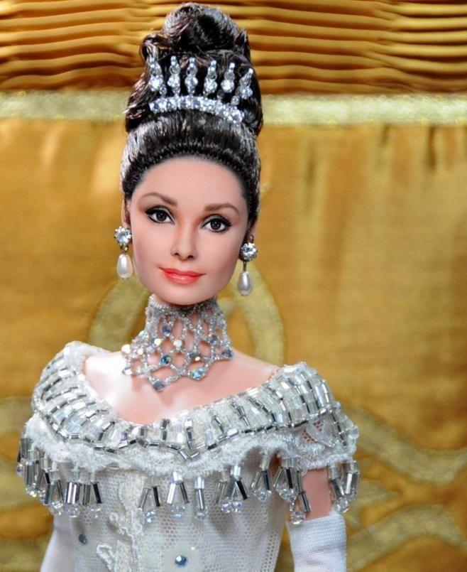 Audrey Hepburn in My Fair Lady movie doll