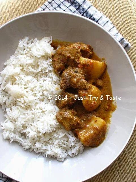 Just Try & Taste: Kalio Daging Sapi