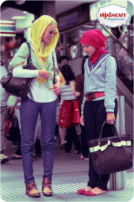 Singapore Trip Part I (The Arrival) | Hijab Scarf