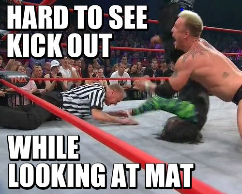 Earl at it again    #wrestling  #tna  #sacrifice  #earl #hebner #jeff #hardy #mr #anderson