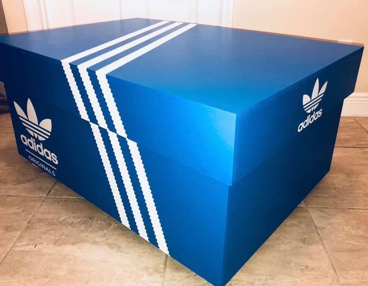 Adidas Originals Shoe Storage Box – Giant Shoe Boxes | Spiele für ...