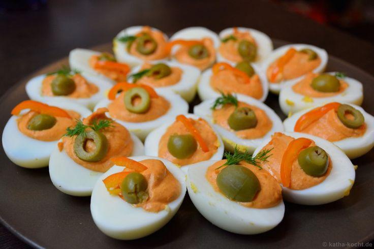Ber ideen zu gef llte eier auf pinterest gutes - Eier kochen zeit ...