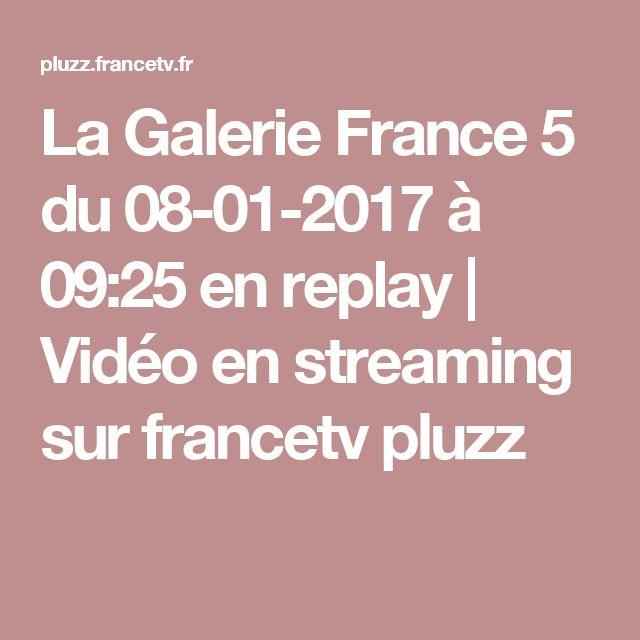 La Galerie France 5  du 08-01-2017 à 09:25 en replay | Vidéo en streaming sur francetv pluzz