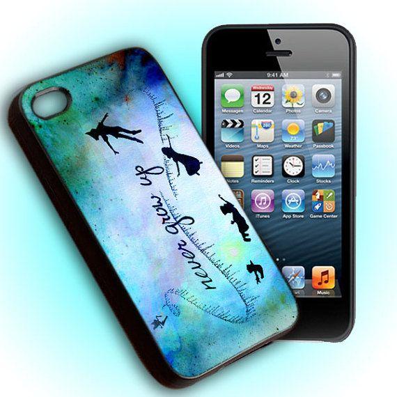 Custom Phone Case Peter Pan Never Grow Up by HighCustomPhone, $15.15
