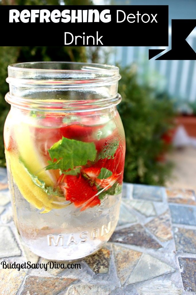 12 best images about refreshing summer drinks on pinterest for Cocktail detox