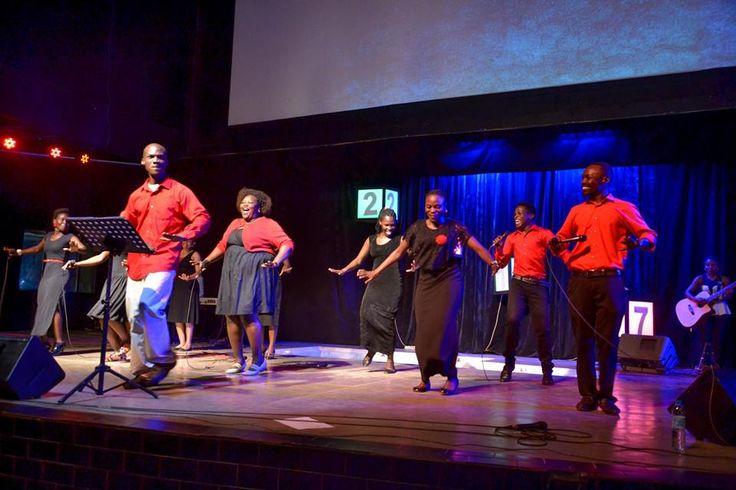 Victory City Church - Ntinda Worship team in action