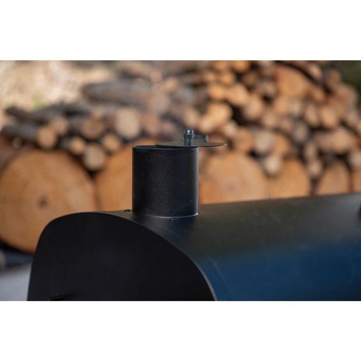 Nexgrill 29 in barrel charcoal grillsmoker in black810