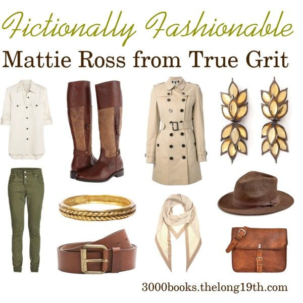 Fictionally Fashionable: Mattie Ross from True Grit   Mattie is amazing, and so are these clothes.