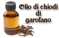L'#olio di chiodi di #garofano, messo direttamente sul #dente interessato allevia il mal di #denti.