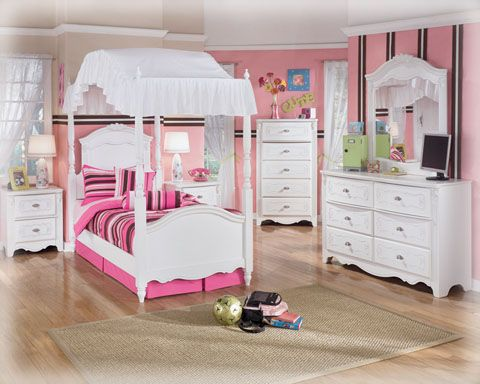 girls furniture bedroom. chic twin bedroom set with white shabby furnitures includes dresser and mirror canopy poster bed also drawers bedside tables looks girls furniture