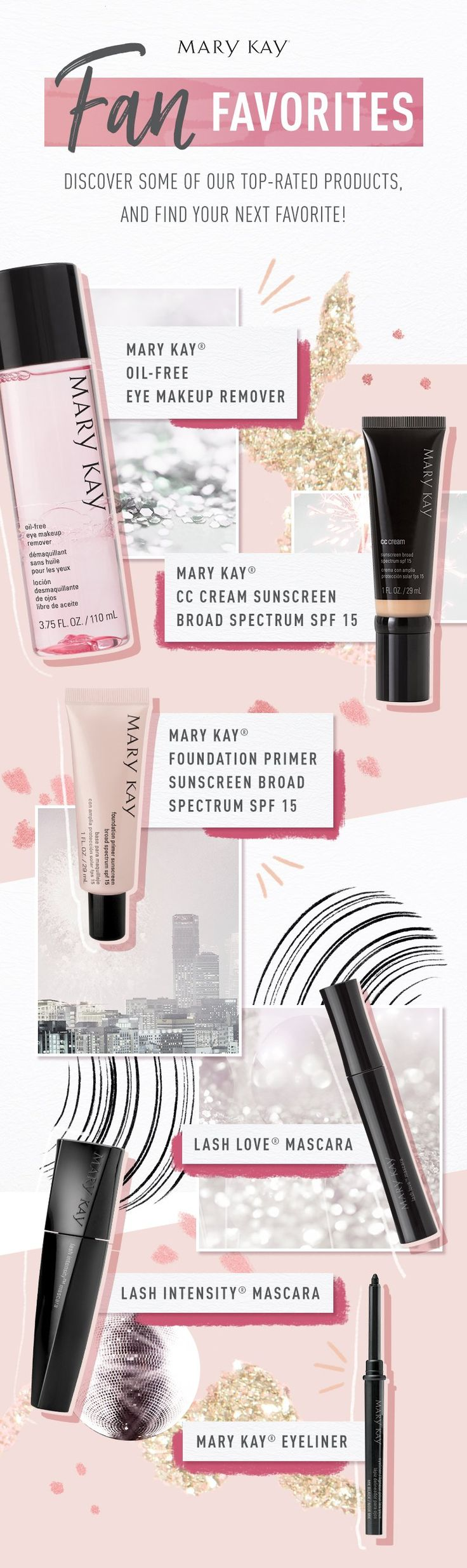 Only the best for you! From makeup to skin care, women