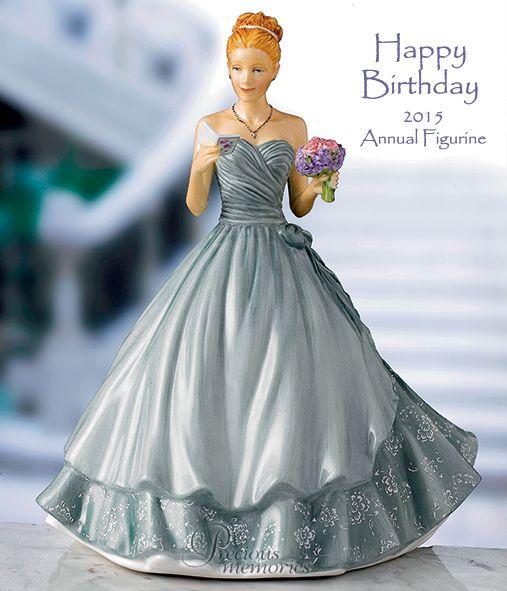 COSTCO Happy Birthday 2015 Figurine of the Year Royal Doulton