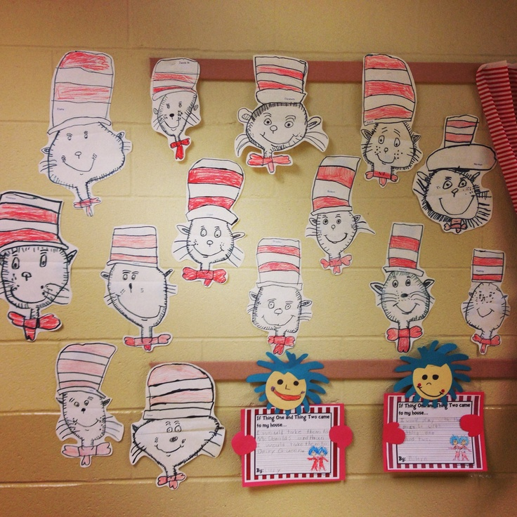 Directed drawings of the Cat in the Hat. The kids adores doing these. They were SO proud of themselves!! http://foreverin1st.blogspot.com/2013/02/cat-in-hat-steps-1-2-3.html?m=0