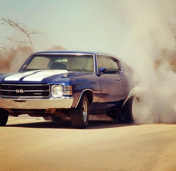 Chevelle..making smoke the easy way.
