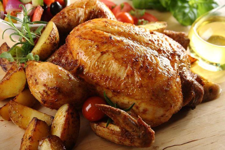 Pieczony kurczak z ziemniakami - autor: Piotr Murawski