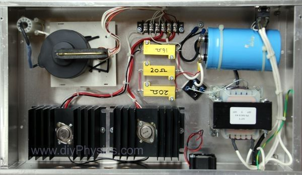 DC to AC Inverter by David Prutchi -- Homemade DC to AC inverter constructed from a surplus TV flyback, transformers, resistors, and a capacitor. http://www.homemadetools.net/homemade-dc-to-ac-inverter