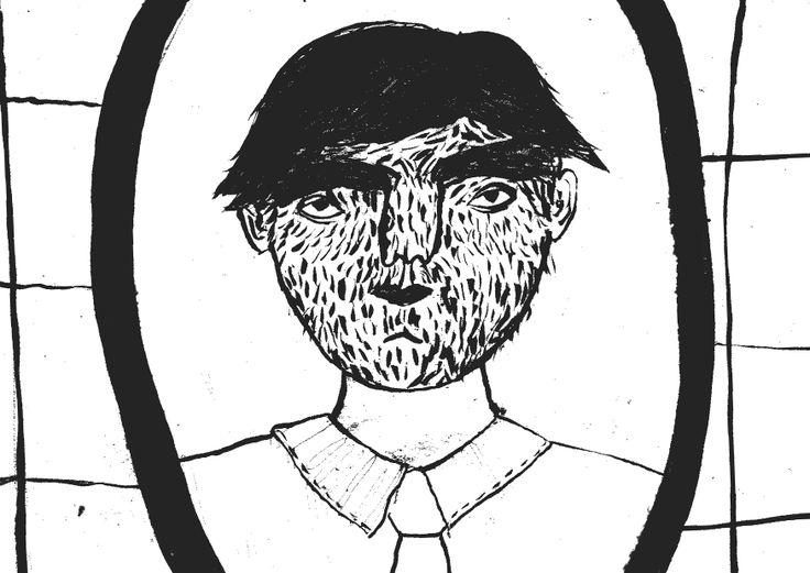 Fragment komiksu z pierwszego mydła autorstwa Joanny Wojniłko. pice of comic from the first soap.zine by Joanna Wojnilko. https://www.facebook.com/Mydlo.zin  #mydło.zin #sopa.zine #hair #mirror #face