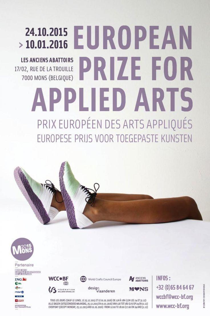 Prix européen des Arts Appliqués European Prize for Applied Arts Du 24 octobre 2015 au 10 Janvier 2016