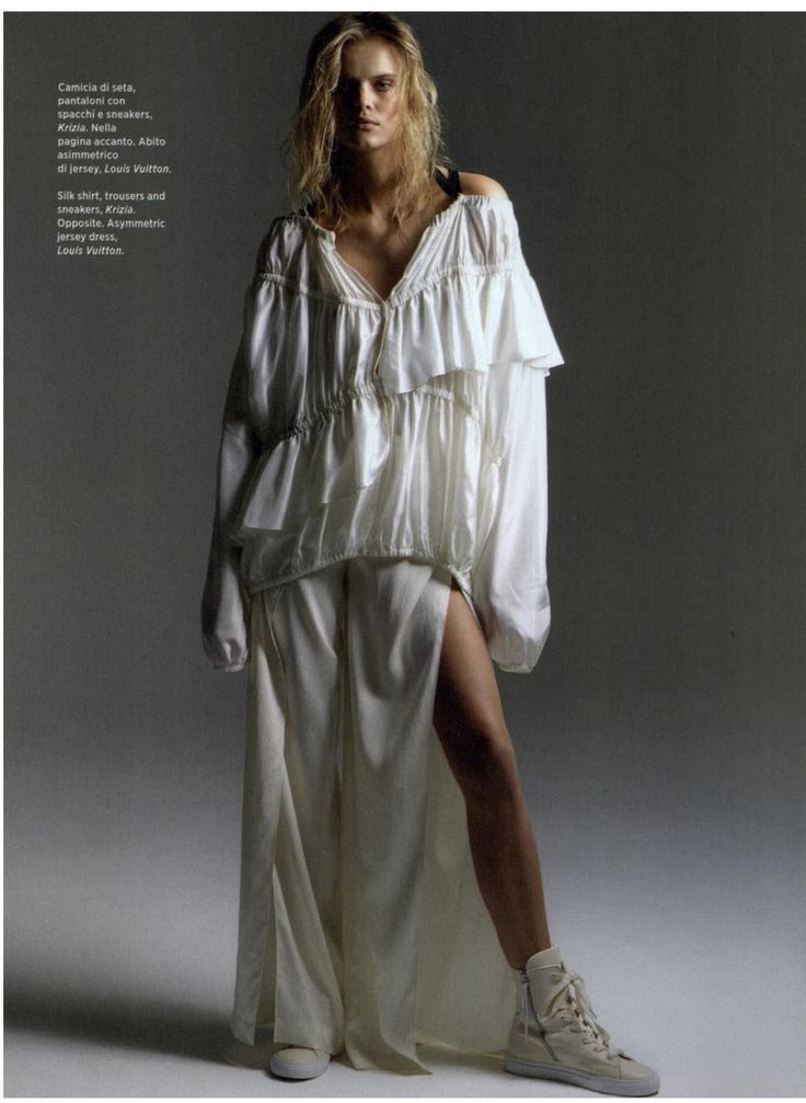 Amica International December issue features a total look Krizia SS 17 collection