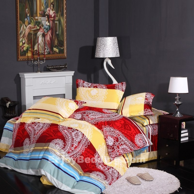 anyone looking to redo the look of their bedroom should consider another graphic print from western