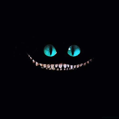 The Cheshire Cat is sooo cute! It has this smile and big huge eyes... :D