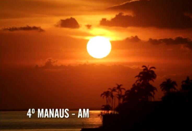 pôr do sol e estrelas | Pôr do Sol em Manaus. Eleito pelos internautas como o 4º mais bonito ...