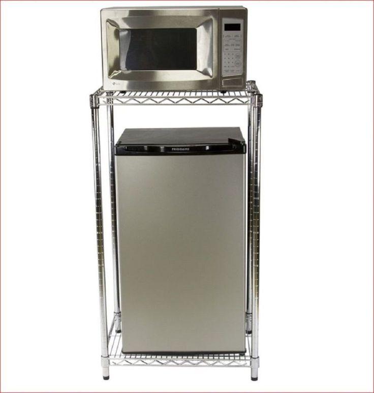 Mini Fridge Shelveicrowave Stand Furniture For Dorm Storage Steel Wire
