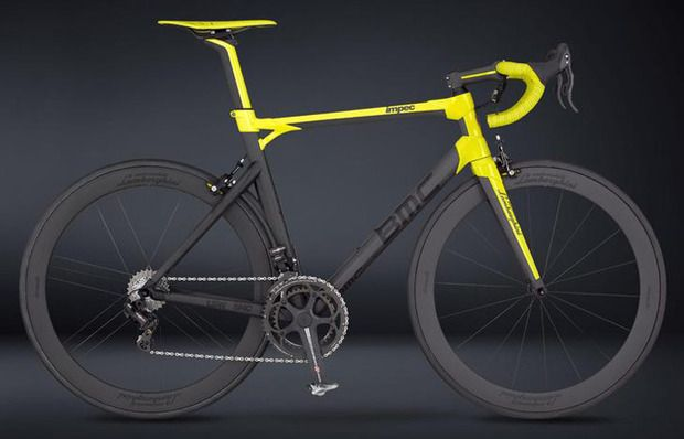 BMC + Lamborghini 50th Anniversary Bicycle - Two design-driven companies come together to create a fantastical limited edition roadie