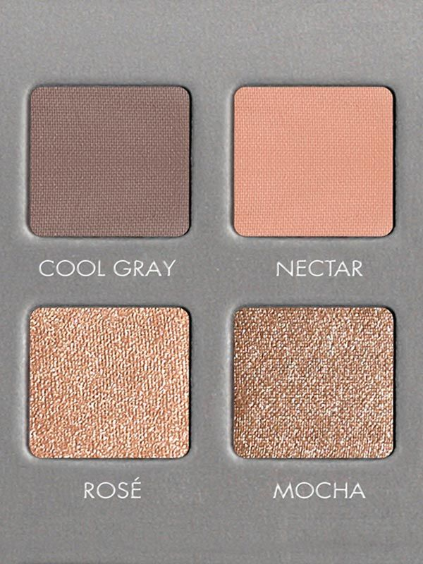 Here's a closer look at these four lovely shades of the LORAC PRO Palette 2.