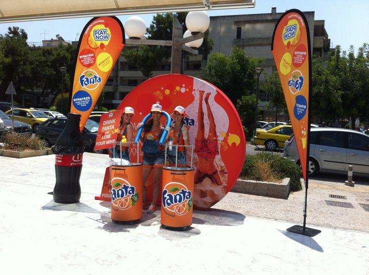 Flexi beachflags FANTA 2014 - Size: Large - Product name: Drop