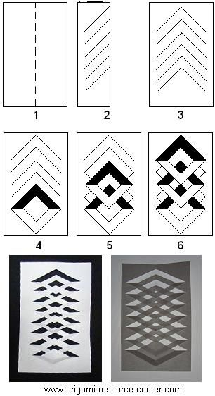 Learn how to make a kirigami window decoration. Very easy to make and uses only paper and a pair of scissors. Free instructions to other origami and kirigami arts and crafts. Read more...