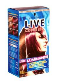 £4.29 - Schwarzkopf Live Color Xxl Luminance L76 Ultra Violet Live luminance from Live, the expert in high fashion, intense hair colour. Discover the first all-over colour from Live that gives you strong vibrant colour even on dark hair. Live luminance has a special formula which lightens and colours all in one easy step