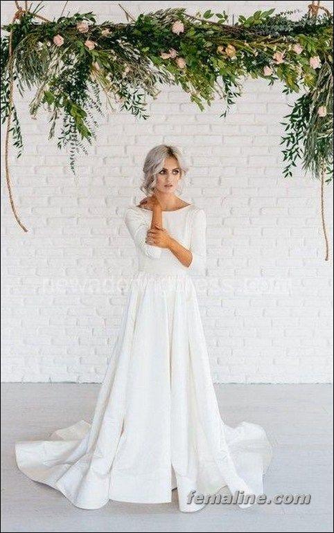 222 beautiful long sleeve wedding dresses (15)